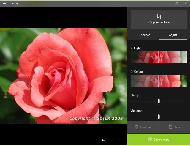 Photos app screenshot 2