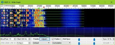 FT8 spectrum
